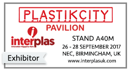 UK Plastic Manufacturers exhibition - Interplas 2017
