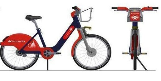 Developing a plastic part - Santander Bike